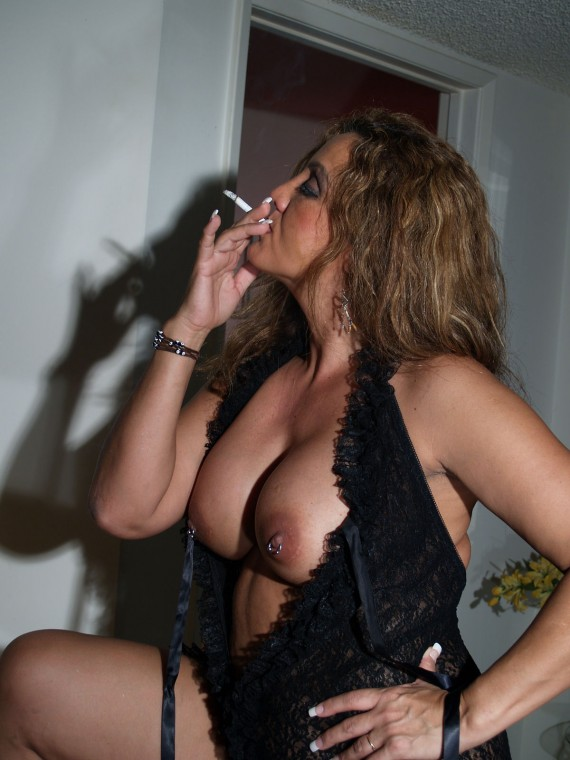 Hot smoking milfs