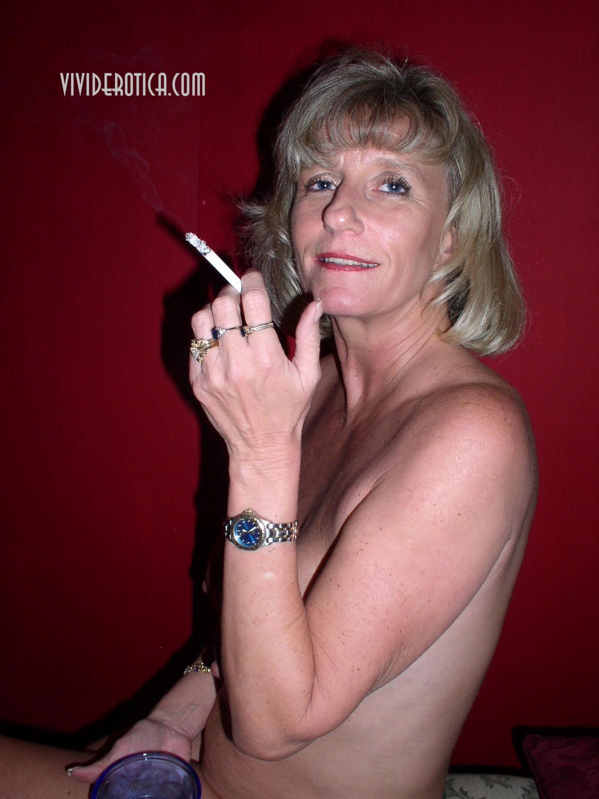 smoking mature